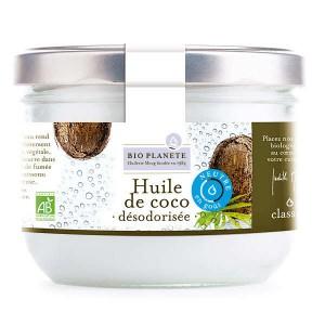 Huile de coco désodorisée Bio - Bocal 400ml
