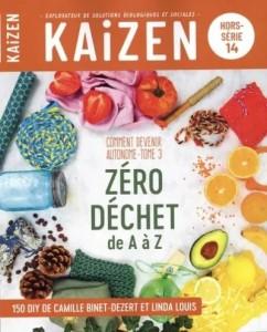 """Livre """"Comment devenir autonome Tome 3 - Zéro déchet de A à Z"""""""