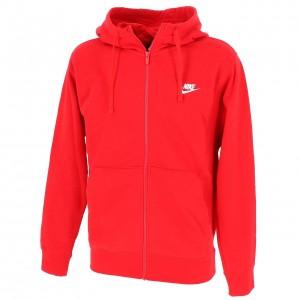 Club zip hoodie  rouge