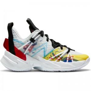"""Chaussure de Basketball Jordan Why not zer0.3 SE (GS) """"Primary Colors"""" pour junior"""