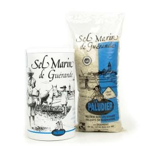Gros sel de Guérande - La boite ronde de 800g
