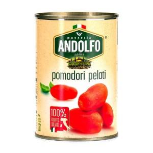 Tomates italiennes pelées au jus - Boite 2,5kg