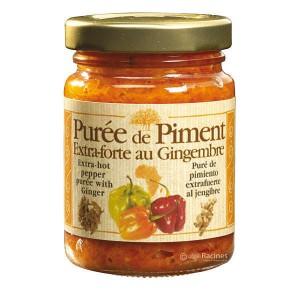 Purée de piment extra-forte au gingembre - Bocal 100g