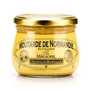 Moutarde de Normandie au calvados Père Magloire - Pot 260g