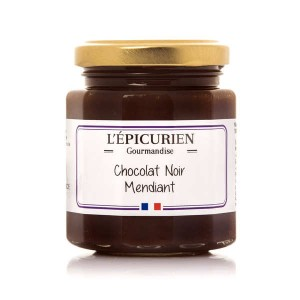 Pâte à tartiner chocolat noir mendiant - Le pot 191ml