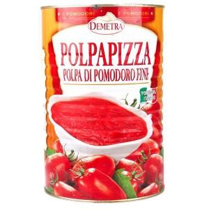 Pulpe de tomate fine Polpapizza - Boîte 5/1 - 4050g