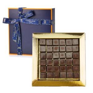 Coffret Les pavés de Nantes Castelanne - chocolat praliné - Coffret 130g