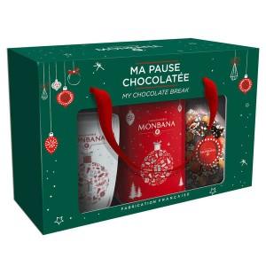 Coffret Ma Pause Chocolatée Monbana - Coffret chocolat chaud