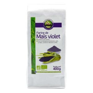 Farine de maïs violet bio - Sachet 400g