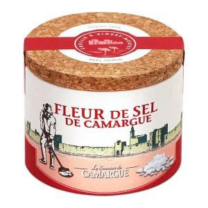 Fleur de sel de Camargue - Boite ronde - Boite 125g