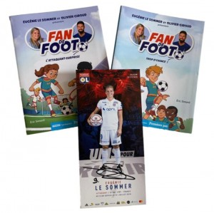 Pack Fan de Foot + Autographed Card