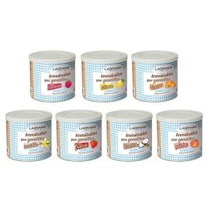 Lot 7 arômes de 500 g pour yaourts Lagrange