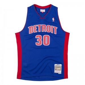 Maillot NBA Rasheed Wallace Detroit Pistons 2003-04 Mitchell & ness Hardwood Classic Swingman Bleu