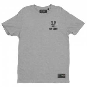 Grey t-shirt logo RG27 small