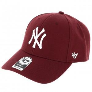 New york casquette marron