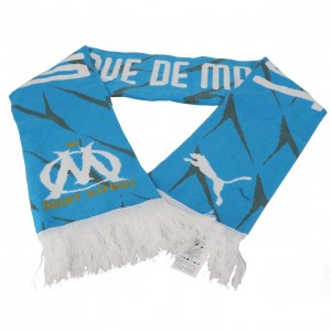 Om fan scarf bleu