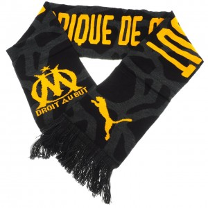 Om fan scarf black