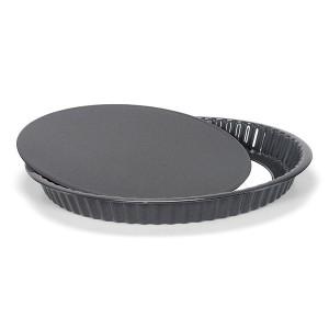 Moule à tarte acier émaillé 30 cm Patisse
