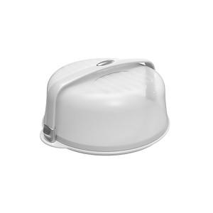 Boîte à gâteau ronde blanche
