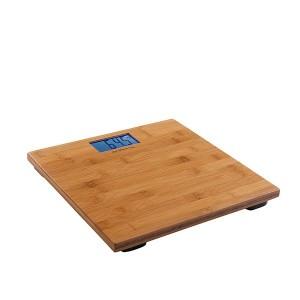 Pèse-personne électronique bambou 30 cm DOM306 Livoo