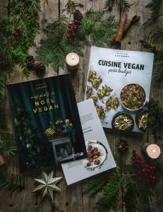 """Pack mon livre """"Mes plats de Noël vegan"""" + mon livre """"Cuisine vegan petit budget"""" + Recette secrète de Noël"""
