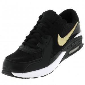 Sneakers Nike Air max excee Noires/or Enfant