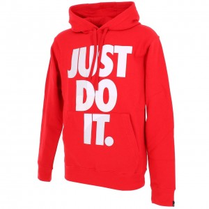 Just do it  jdi  hoodie rouge