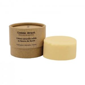 Crème naturelle solide au beurre de karité - Livraison Offerte