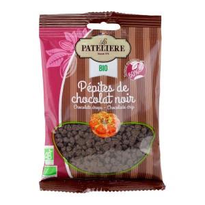 Pépites de chocolat bio 60% cacao - Sachet 100g
