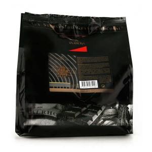 Chocolat de couverture Valrhona en fèves Jivara lactée - lait 40% - Sachet 1kg