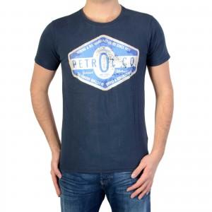 T-shirt Petrol Industries M-SS16-TSR606 Deep Navy 591