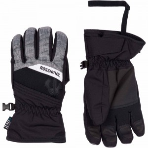 Gants De Ski Rossignol Jr Tech Impr G Heather Grey