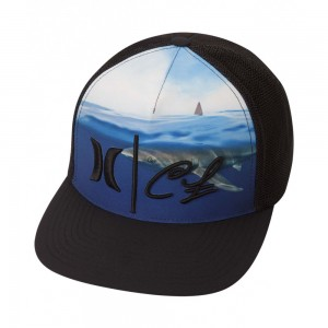 Casquette Hurley Clark Little Shark Trucker Black