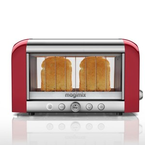 Toaster vision panoramique Rouge Magimix 11528