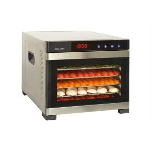 Déshydrateur inox 6 plateaux SECCO6PRO Kitchen Chef Professional