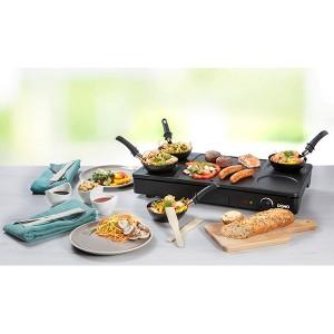 Gourmet-Set wok grill et crêpes 1000 W DO8712W Domo