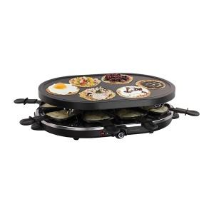Appareil à raclette et mini-crêpes 1200 W DOC188 Livoo