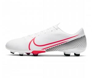Chaussures de football Nike Mercurial Vapor XIII Academy MG Blanc