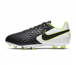 Chaussures de football Nike Tiempo Legend VIII Academy MG Noir Junior