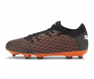 Chaussures de football Puma 6.4 SG Noir/Orange Junior