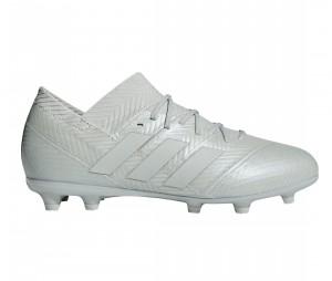 Chaussures de football adidas Nemeziz 18.1 FG Gris Junior