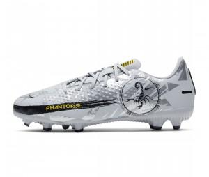 Chaussures de football Nike Phantom GT Academy MG Gris Junior