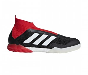 Chaussures de football adidas Predator Tango 18 + IN Noir/Rouge