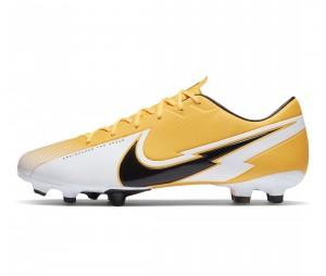 Chaussures de football Nike Mercurial Vapor XIII Academy MG Jaune/Blanc