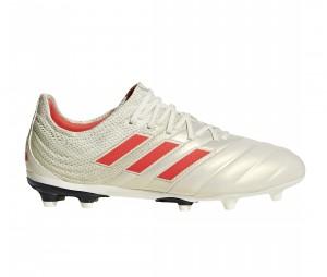 Chaussures de football adidas Copa 19.1 FG Blanc Nacré Junior