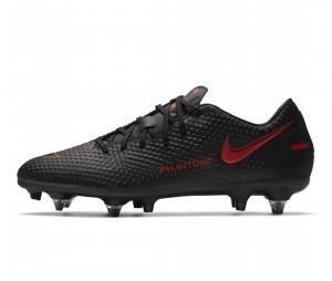 Chaussures de football Nike Phantom GT Academy SG-Pro AC Noir
