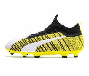 Chaussures de football Puma One 5.3 FG/AG Jaune/Blanc