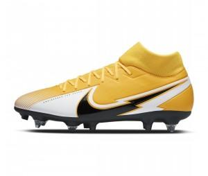 Chaussures de football Nike Mercurial Superfly VII Academy SG-PRO Anti-Clog Jaune