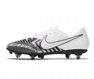 Chaussures de football Nike Mercurial Vapor XIII Academy MDS SG-Pro Anti-Clog Blanc