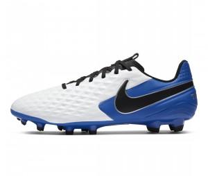 Chaussures de football Nike Tiempo Legend VIII Academy MG Blanc/Bleu